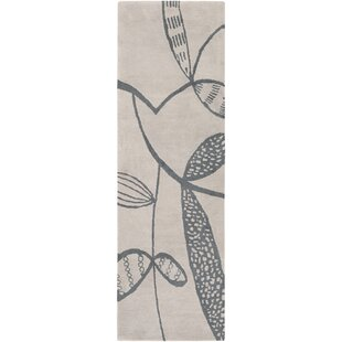 Decorativa Hand-Tufted Gray/Black Area Rug ByLotta Jansdotter