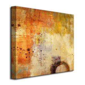 Oversized Abstract Painting Print on Canvas by Ready2hangart