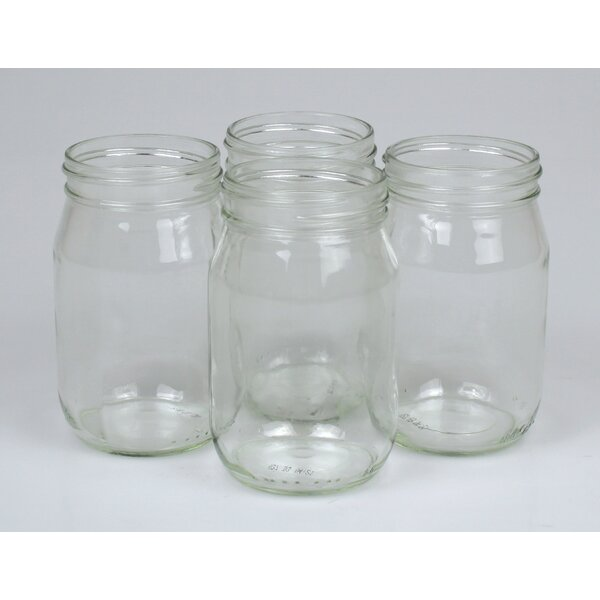 16 oz. Mason Jar (Set of 12) by Jodhpuri