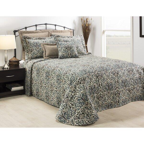Content Graphite Single Bedspread