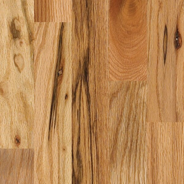 Paradise Random Width Solid Oak Hardwood Flooring in Natural by Albero Valley