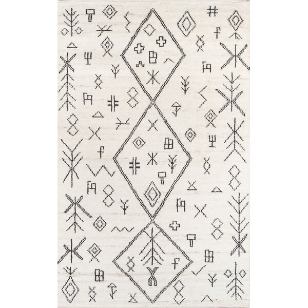 Allens Hand-Knotted Natural Area Rug by Bungalow Rose