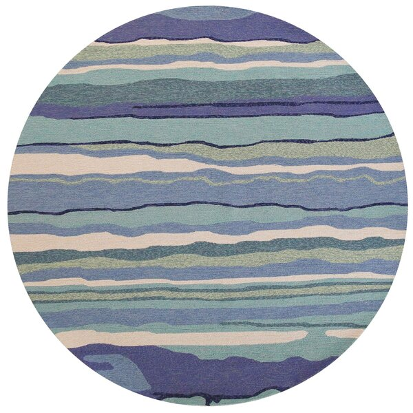 Weybridge Handmade Blue Indoor/Outdoor Area Rug by Beachcrest Home