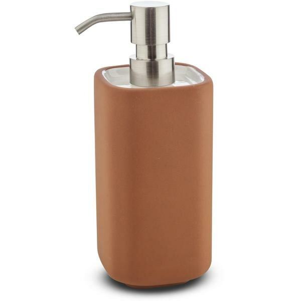 Chumbley Brick Square Ceramic Soap & Lotion Dispenser by George Oliver