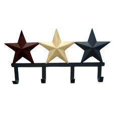 Star Key and Coat Hanger by Craft Outlet