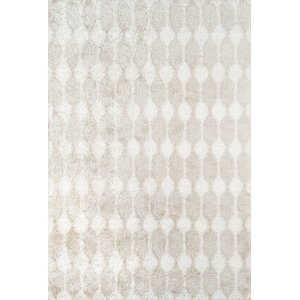 Stockings Hand-Tufted Taupe Area Rug