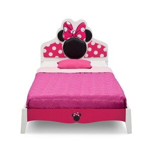 disney minnie mouse wood twin panel bed - Minnie Mouse Bed Frame