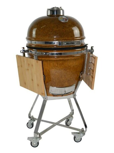 Swinger charcoal grill #3