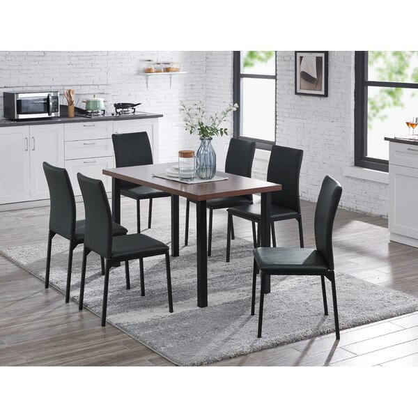 Groseiller 7 Piece Dining Set By Ebern Designs