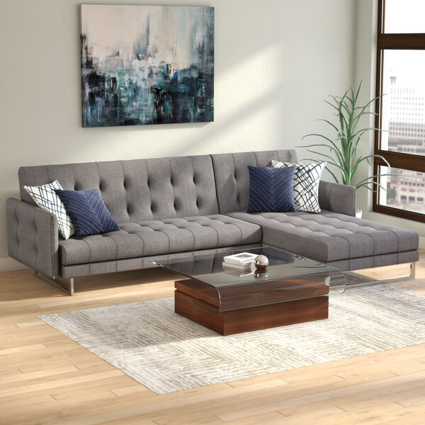Baize Sleeper Sectional by Wade Logan