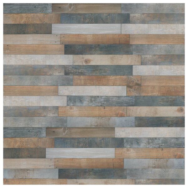 Chic 12.25 x 23.625 Porcelain Wood Look  in Rustico by EliteTile