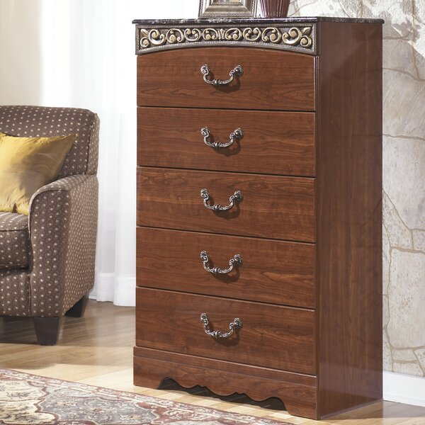 Samia 5 Drawer Chest by Fleur De Lis Living