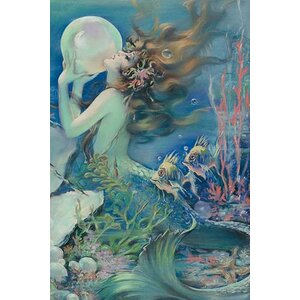 'The Mermaid' by Henry O'Hara Clive Painting Print by Buyenlarge