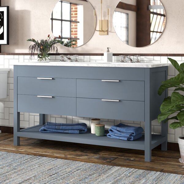 Knorr 60 Double Bathroom Vanity Set by Brayden Studio