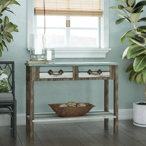 Beachcrest Home Brown Console Tables