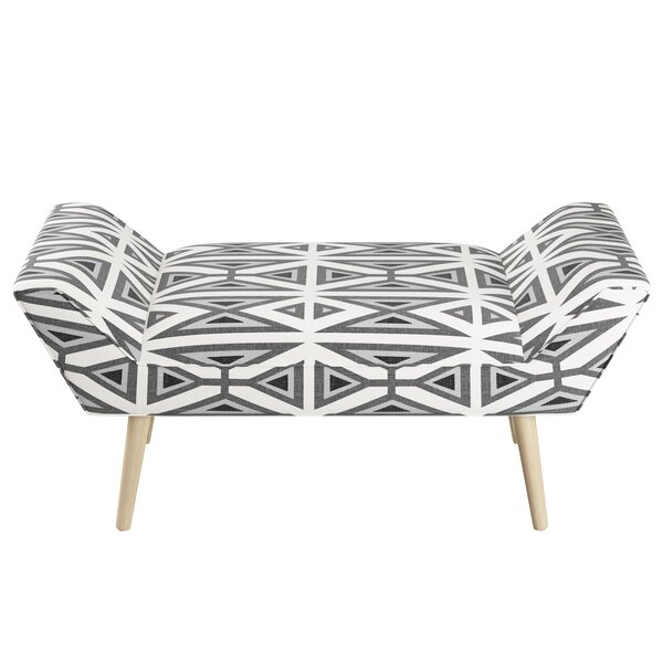 Tennant Upholstered Bench by Brayden Studio