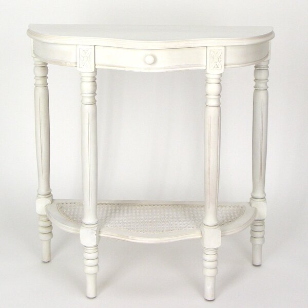 Leeroy Demilune Console Table By Charlton Home