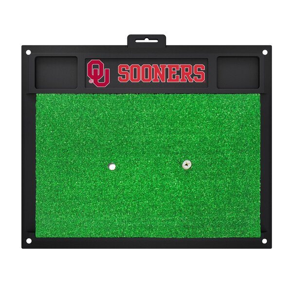 NCAA University of Oklahoma Golf Hitting Mat by FANMATS