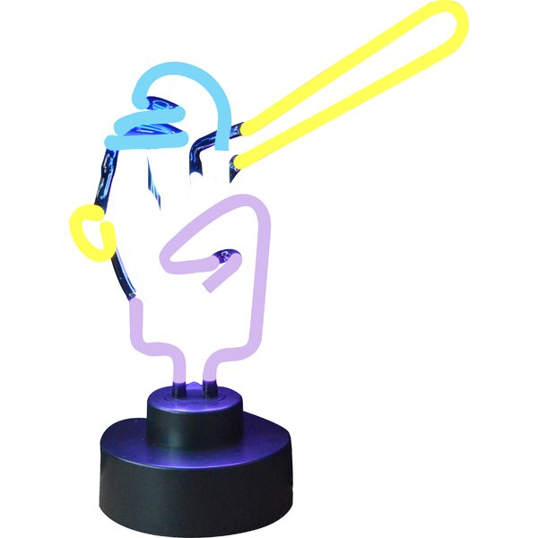 Sports Baseball Player Neon Sign by Neonetics