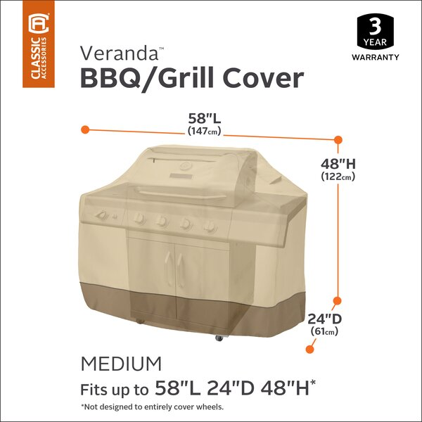 Croteau Grill Cover - Fits up to 22.5 by Red Barrel Studio