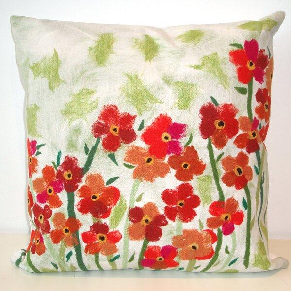 Crawley Poppies Indoor/Outdoor Throw Pillow