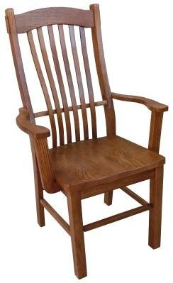 Solid Wood Slat Back Side Chair by Chelsea Home Chelsea Home