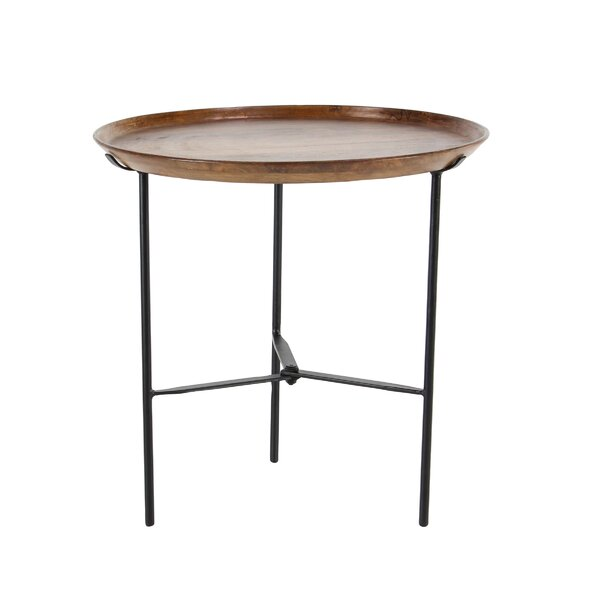 Winthrop Rustic Round End Table by Union Rustic
