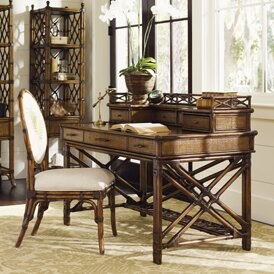 Bali Hai Writing Desk with Hutch by Tommy Bahama Home