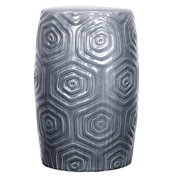 Dora Ceramic Garden Stool by World Menagerie