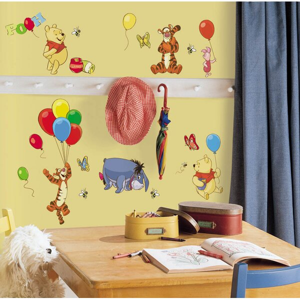 Disney Pooh and Friends Cutout Wall Decal by Wallhogs