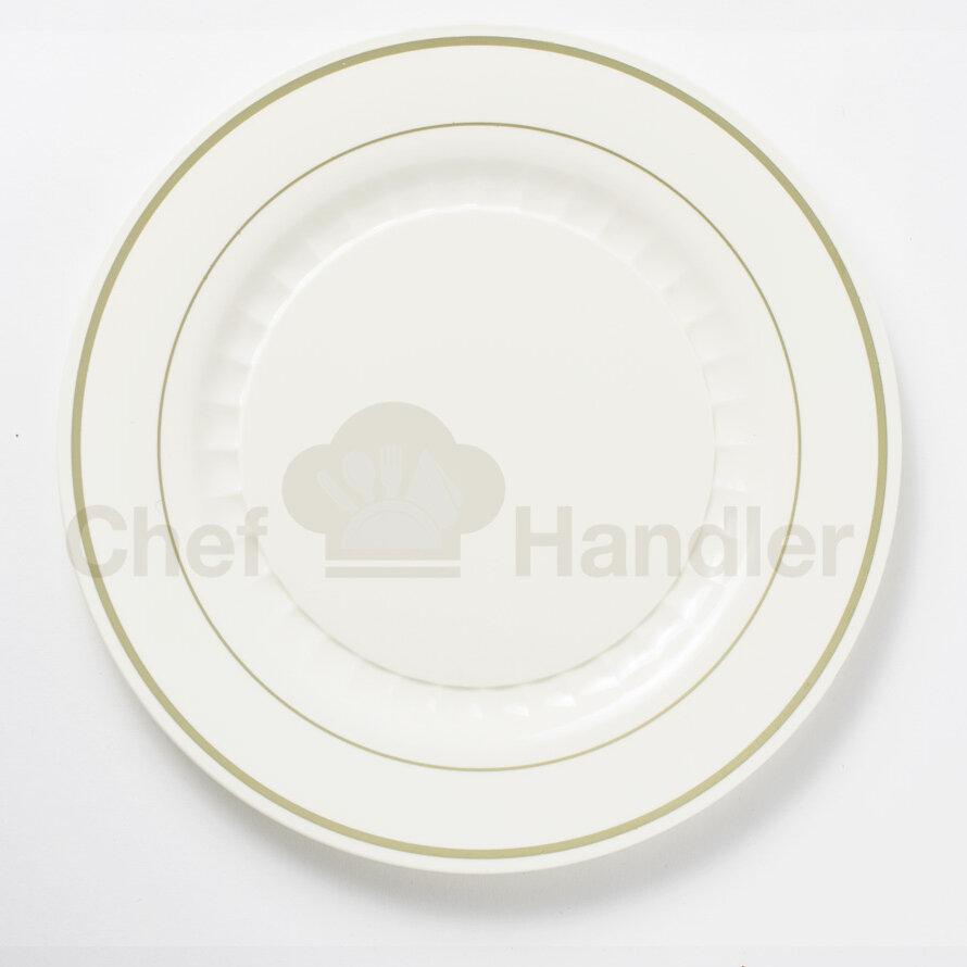 & Chef Handler Mystique 760 Piece Wedding Plastic Plate Set | Wayfair