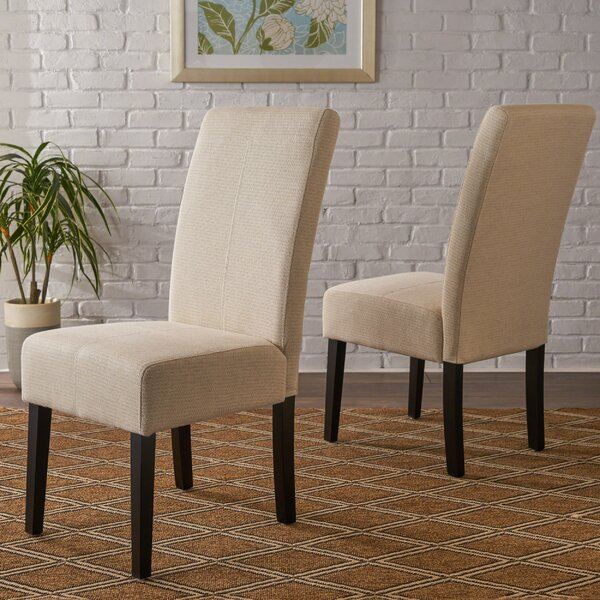 Fresh Relyea Parsons Upholstered Dining Chair (Set Of 2) By Latitude Run Spacial Price