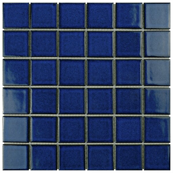 Waterfall 2 x 2 Porcelain Mosaic Tile in Bering by EliteTile