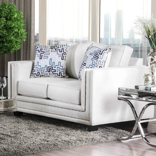 Landwehr Loveseat by Everly Quinn