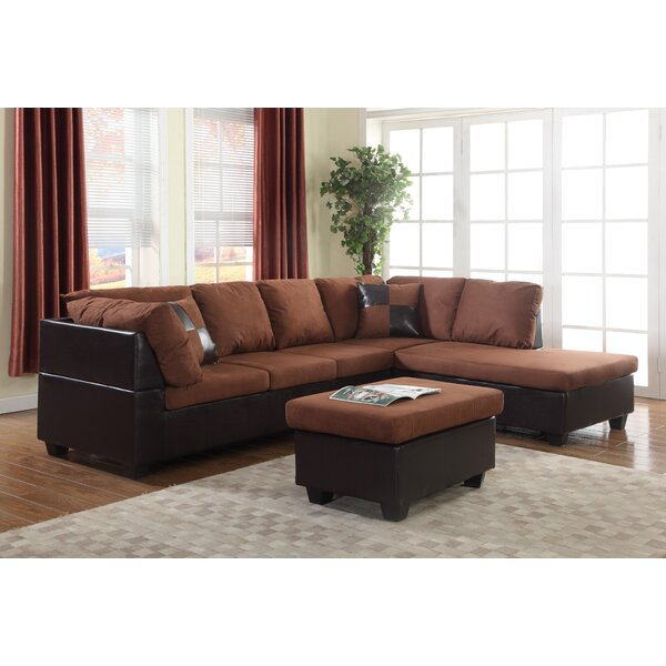 Soloman Sectional by Global Trading Unlimited