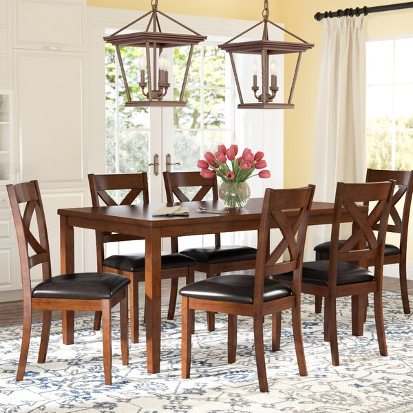 #2 Nadine 7 Piece Dining Set By Darby Home Co Wonderful