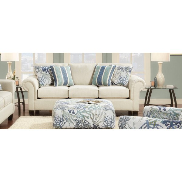 Chaska Linen Sofa by Highland Dunes