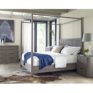 Palmer Queen Canopy Configurable Bedroom Set by Brownstone Furniture