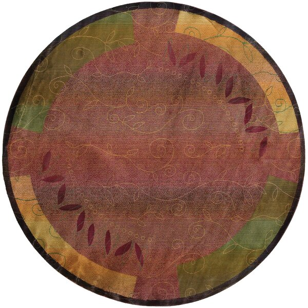 Chestertown Casual Red/Brown Area Rug