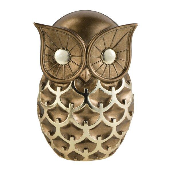 Mystic Owl Decorative Figurine by Sintechno