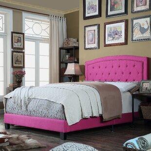 Rockaway Upholstered Panel Bed ByCharlton Home