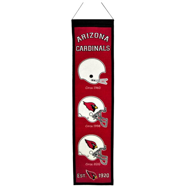 NFL Heritage Banner Wall Décor by Winning Streak