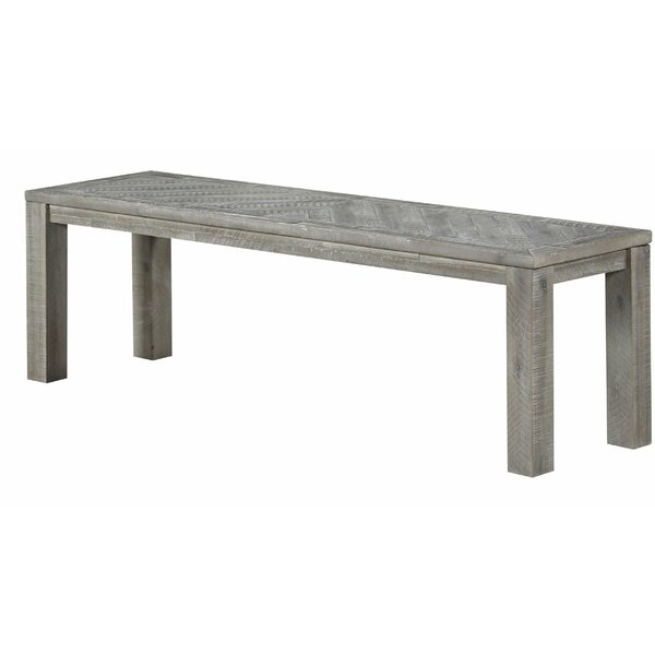 Vickery Solid Wood Bench by Foundry Select Foundry Select