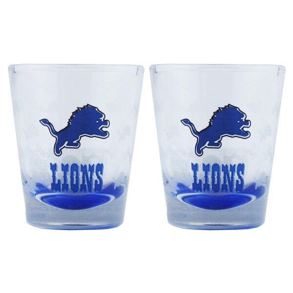 NFL Shot Glass Cup (Set of 2) by Boelter Brands