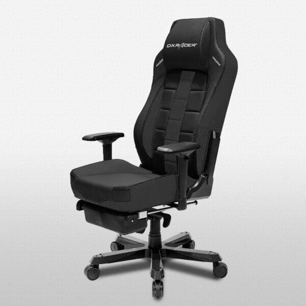 Classic Racing Game Chair with Footrest by DXRacer