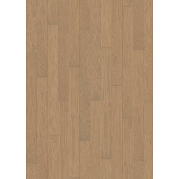 Linnea 4-5/8 Engineered Oak Hardwood Flooring in Shitake by Kahrs