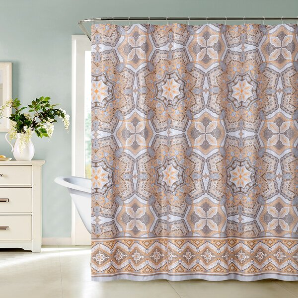 Coleman Shower Curtain by Bungalow Rose
