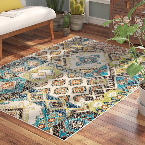 Star Colored Area Rug by Bungalow Rose