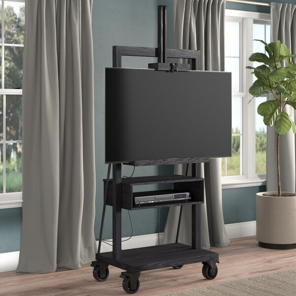 Solid Wood TV Stand For TVs Up To 44