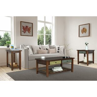 Affordable Price Roemer 3 Piece Coffee Table Set By Bloomsbury Market